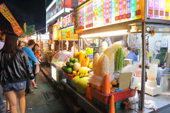Taiwan : Shilin Night Market Royalty Free Stock Photography