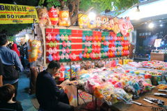 Taiwan : Shilin Night Market Stock Photography