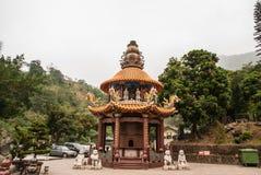Taiwan Shrine on Alisan national park. In Taiwan royalty free stock photos