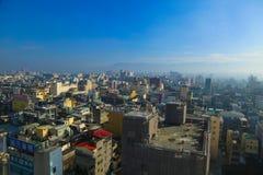 Taiwan stad Lanscape Arkivbild