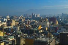 Taiwan stad Lanscape Fotografering för Bildbyråer