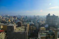Taiwan stad Lanscape Royaltyfri Fotografi