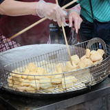 Taiwan stinky tofu Royalty Free Stock Image