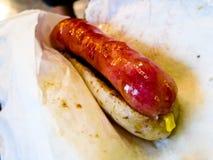 Taiwan style sausage with glutinous rice Stock Photo