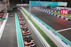 Taiwan: Suzuka Circuit Park Arkivfoton