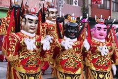 Taiwan tai zi royaltyfria bilder