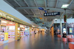 Taiwan : Taichung Airport Royalty Free Stock Photography