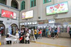 Taiwan: Tainan station Royaltyfri Foto