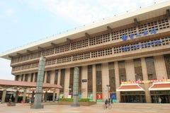 Taiwan: Taipeh-Station Lizenzfreie Stockfotos