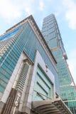 TAIWAN TAIPEI - Maj 23, 2017 Taipei 101 skyskrapa Buildinen Arkivbilder