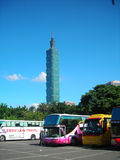 101 Taiwan. 101 Taipei Taiwan photoed in july 2011 Royalty Free Stock Photos