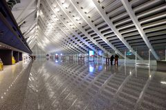 Taiwan Taoyuan International Airport Royalty Free Stock Photography