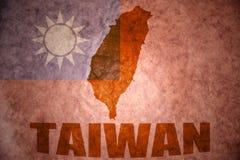 Taiwan tappningöversikt Arkivbild