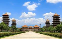 taiwan tempel Arkivfoto