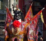 Taiwan tempeldansare Arkivfoton