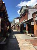Taiwan Traditional Street. Asia Heritage Stock Image