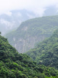 Taiwan Tropical Mountainscape Royalty Free Stock Image