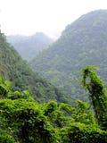 Taiwan Tropical Mountainscape Stock Photo