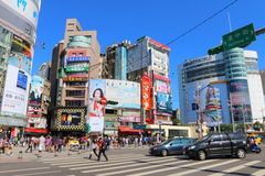 Taiwan : Ximending Royalty Free Stock Photography