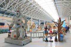 Taiwan: Xinwuri station Arkivfoto