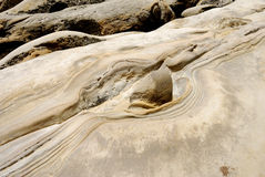 Taiwan Yehliu Geo-parkerar landskap royaltyfri fotografi