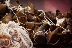 Taiwan zongzi (traditional Chinese food) Stock Photography