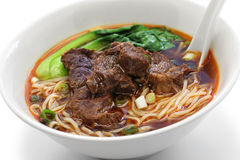 Taiwanese beef noodle soup Stock Photos