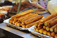 Taiwanese cheese sticks Royalty Free Stock Photo
