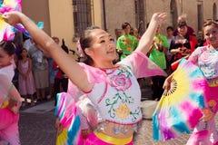Taiwanese dancers Stock Image