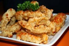 Taiwanese Fried Calamari Rings Stock Photo