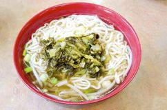 Taiwanese Noodles Stock Images