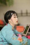 Taiwanese opera actress Stock Images