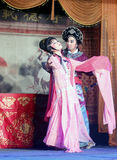 Taiwanese opera general lubu and beauty diaochan Royalty Free Stock Photos