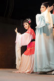 Taiwanese opera love story gold and jade ryoen Stock Photo