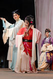 Taiwanese opera love story gold and jade ryoen Stock Photography