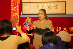 Taiwanese Puppet Show Stock Image