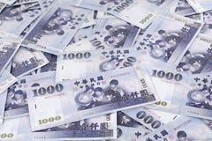 Taiwanese tausend Dollarscheine Lizenzfreies Stockbild