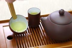 Taiwanese theeceremonie stock foto