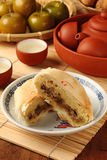 Taiwanese traditionele cake Stock Afbeelding