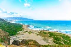 Taiwanesische Küstenlinie Stockbild
