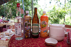 Taiwans drinks. All kind of Taiwans drinks Royalty Free Stock Image