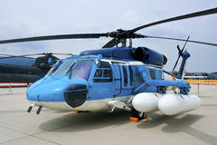 Taiwin s-70c. Taiwan's navy search and rescue helicopter (s-70c Royalty Free Stock Images