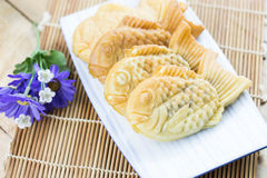 Taiyaki-Fischpfannkuchen Lizenzfreie Stockbilder