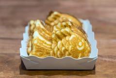 Taiyaki fish pancake Stock Images