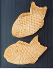 Taiyaki, Japanese fish shaped cake. Made using regular pancake or waffle batter Stock Photography