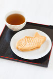 Taiyaki, Japanese fish shaped cake Stock Photography