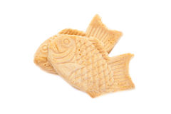 Taiyaki, Japanese fish shaped cake Stock Photos