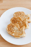 Taiyaki of japanese traditional baked sweets Stock Images