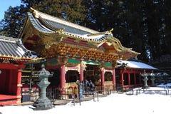 Taiyu在寺庙,一部分的Rinnouji寺庙 免版税库存照片