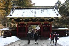 Taiyu-in Temple, part of Rinnouji Temple Royalty Free Stock Images